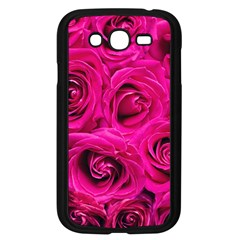 Pink Roses Roses Background Samsung Galaxy Grand Duos I9082 Case (black)