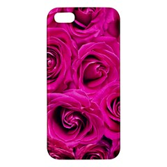 Pink Roses Roses Background Iphone 5s/ Se Premium Hardshell Case