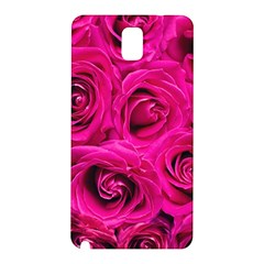Pink Roses Roses Background Samsung Galaxy Note 3 N9005 Hardshell Back Case