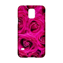 Pink Roses Roses Background Samsung Galaxy S5 Hardshell Case