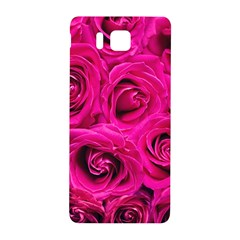 Pink Roses Roses Background Samsung Galaxy Alpha Hardshell Back Case