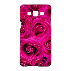 Pink Roses Roses Background Samsung Galaxy A5 Hardshell Case