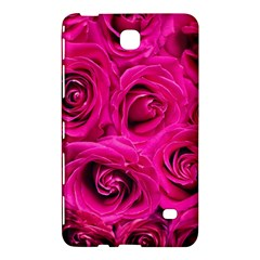 Pink Roses Roses Background Samsung Galaxy Tab 4 (7 ) Hardshell Case