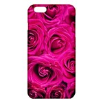 Pink Roses Roses Background iPhone 6 Plus/6S Plus TPU Case Front