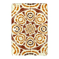 Brown And Tan Abstract Samsung Galaxy Tab Pro 12.2 Hardshell Case