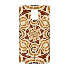 Brown And Tan Abstract Samsung Galaxy Note 4 Hardshell Case