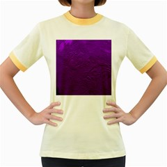 Texture Background Backgrounds Women s Fitted Ringer T Shirts