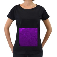 Texture Background Backgrounds Women s Loose-Fit T-Shirt (Black)