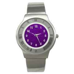 Texture Background Backgrounds Stainless Steel Watch