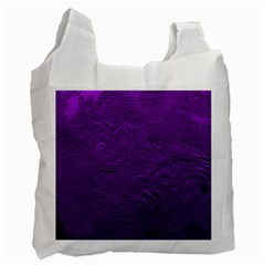 Texture Background Backgrounds Recycle Bag (two Side)