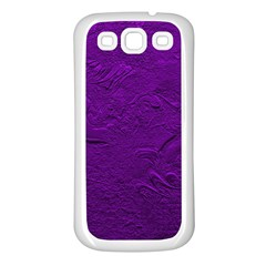 Texture Background Backgrounds Samsung Galaxy S3 Back Case (White)