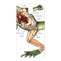 Disected Frog Cutting Board Samsung Galaxy Note 3 N9005 Hardshell Back Case