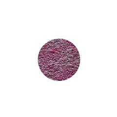Leaves Pink Background Texture 1  Mini Magnets