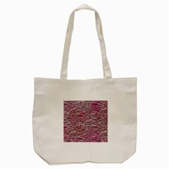 Leaves Pink Background Texture Tote Bag (Cream)