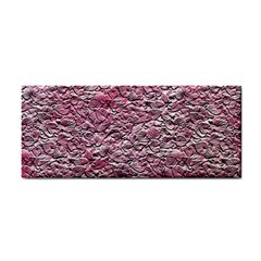 Leaves Pink Background Texture Cosmetic Storage Cases