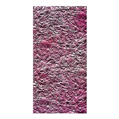 Leaves Pink Background Texture Shower Curtain 36  X 72  (stall)