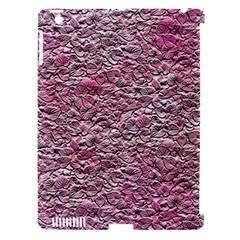 Leaves Pink Background Texture Apple iPad 3/4 Hardshell Case (Compatible with Smart Cover)