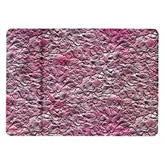 Leaves Pink Background Texture Samsung Galaxy Tab 10.1  P7500 Flip Case