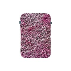 Leaves Pink Background Texture Apple iPad Mini Protective Soft Cases