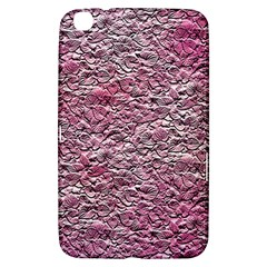 Leaves Pink Background Texture Samsung Galaxy Tab 3 (8 ) T3100 Hardshell Case