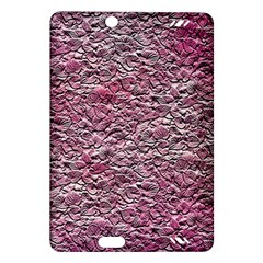 Leaves Pink Background Texture Amazon Kindle Fire Hd (2013) Hardshell Case