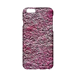 Leaves Pink Background Texture Apple iPhone 6/6S Hardshell Case