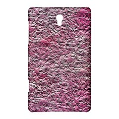 Leaves Pink Background Texture Samsung Galaxy Tab S (8 4 ) Hardshell Case