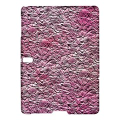 Leaves Pink Background Texture Samsung Galaxy Tab S (10.5 ) Hardshell Case