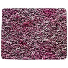 Leaves Pink Background Texture Jigsaw Puzzle Photo Stand (Rectangular)