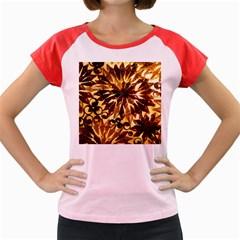 Mussels Lamp Star Pattern Women s Cap Sleeve T-Shirt