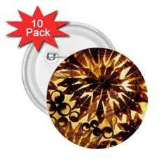 Mussels Lamp Star Pattern 2 25  Buttons (10 Pack)