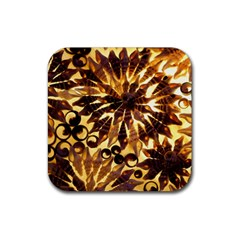 Mussels Lamp Star Pattern Rubber Coaster (Square)
