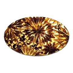 Mussels Lamp Star Pattern Oval Magnet