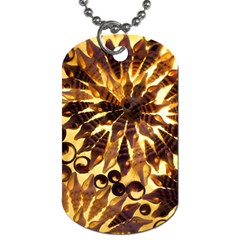 Mussels Lamp Star Pattern Dog Tag (two Sides)