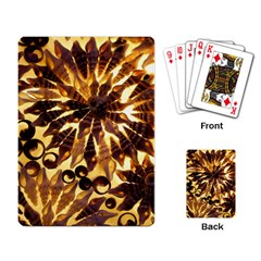 Mussels Lamp Star Pattern Playing Card