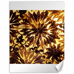 Mussels Lamp Star Pattern Canvas 18  x 24
