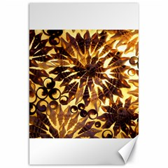 Mussels Lamp Star Pattern Canvas 20  x 30