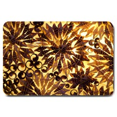 Mussels Lamp Star Pattern Large Doormat