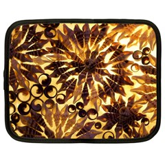 Mussels Lamp Star Pattern Netbook Case (Large)