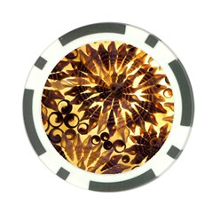 Mussels Lamp Star Pattern Poker Chip Card Guard (10 Pack)