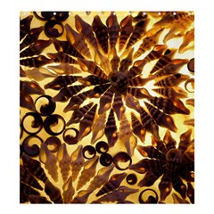 Mussels Lamp Star Pattern Shower Curtain 66  x 72  (Large)