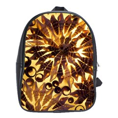 Mussels Lamp Star Pattern School Bags(large)