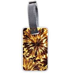 Mussels Lamp Star Pattern Luggage Tags (One Side)