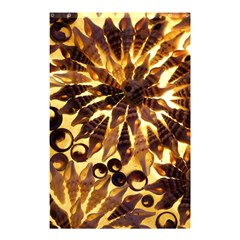 Mussels Lamp Star Pattern Shower Curtain 48  X 72  (small)