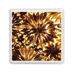 Mussels Lamp Star Pattern Memory Card Reader (Square)