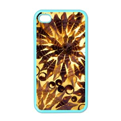Mussels Lamp Star Pattern Apple Iphone 4 Case (color)