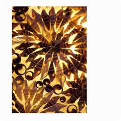 Mussels Lamp Star Pattern Large Garden Flag (two Sides)