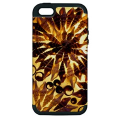 Mussels Lamp Star Pattern Apple iPhone 5 Hardshell Case (PC+Silicone)