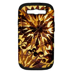 Mussels Lamp Star Pattern Samsung Galaxy S III Hardshell Case (PC+Silicone)