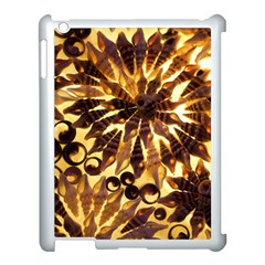 Mussels Lamp Star Pattern Apple iPad 3/4 Case (White)